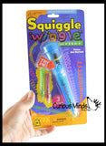 Squiggle Wiggle Writer Pen - Motorized Battery Vibrating Pen Draws Fun Loops - Visual Stimulation