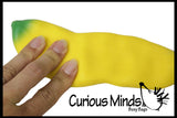 Squishy Banana - Moldable Sensory, Stress, Squeeze Fidget Toy ADHD Special Needs Soothing