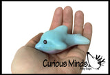 CLEARANCE - SALE - Mini Cute Sea Animal Squishy Slow Rise -  Sensory, Stress, Fidget Toy