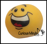 Smile Stretch Ball - Sensory Fidget Stress Toy Emoticon Face Emoji