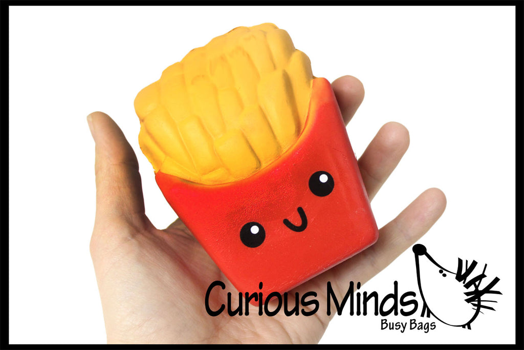 Squishy Slow Rise French Fries -  Sensory, Stress, Fidget Toy