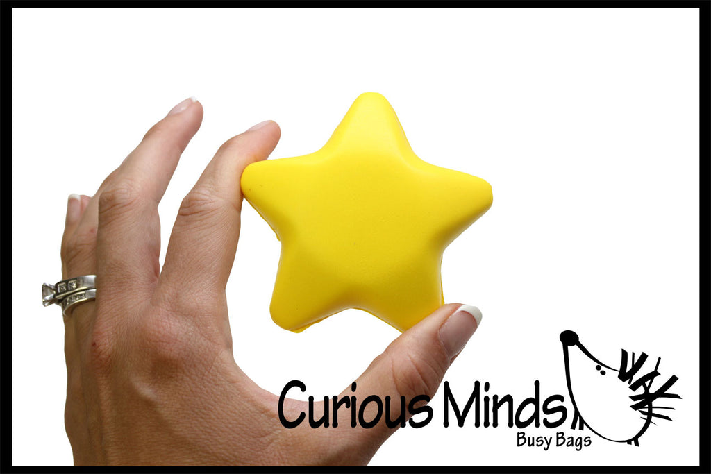 Star Stress Balls - Sensory, Stress, Fidget Toy - Reward, Shining Star, You're a Star, Classroom