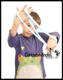 "Jumbo 36"" Ultra Sticky Snake Toy - Super Stretchy and Long Novelty Toy"