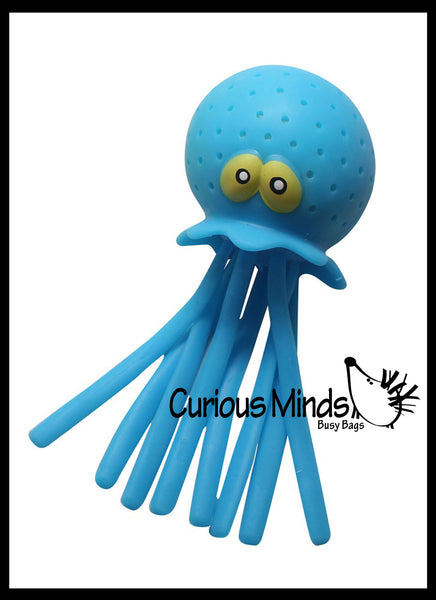 Jellyfish Stress Ball Wiggly Jiggly Squishy Fidget Ball