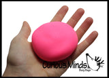 Super Soft Doh Filled Stretch Ball - Ultra Squishy and Moldable Relaxing Sensory Fidget Stress Toy