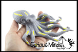 Stretchy Octopus -  Squishy Sensory Fidget Toy - Stress Relief - Builds Resistance - Kids Adults