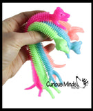 Stretchy Dog Puffer Toys - Fun Long Stretch Toys - Soft & Flexible - Doggy Lover - Fidget Sensory Toy - Stretchy Noodle String
