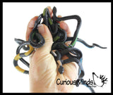 "Mini 8""  Stretchy Snakes - Sensory Fidget Toy - Fun Stretch String Toy"