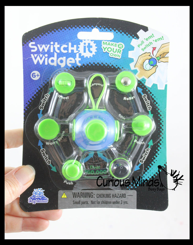 Design Your Own Fidget Cube Block  - Hand Fidget - Anxiety ADHD - Classroom and Office