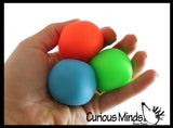 Teenie Tiny Nee-Doh 3 Pack Soft Doh Filled Stretch Ball - Ultra Squishy and Moldable Relaxing Sensory Fidget Stress Toy