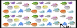 Cute Fish Ocean Figurines - Soft Mini Toys  - Small Novelty Prize Toy - Party Favors - Gift - Bulk 2 Dozen
