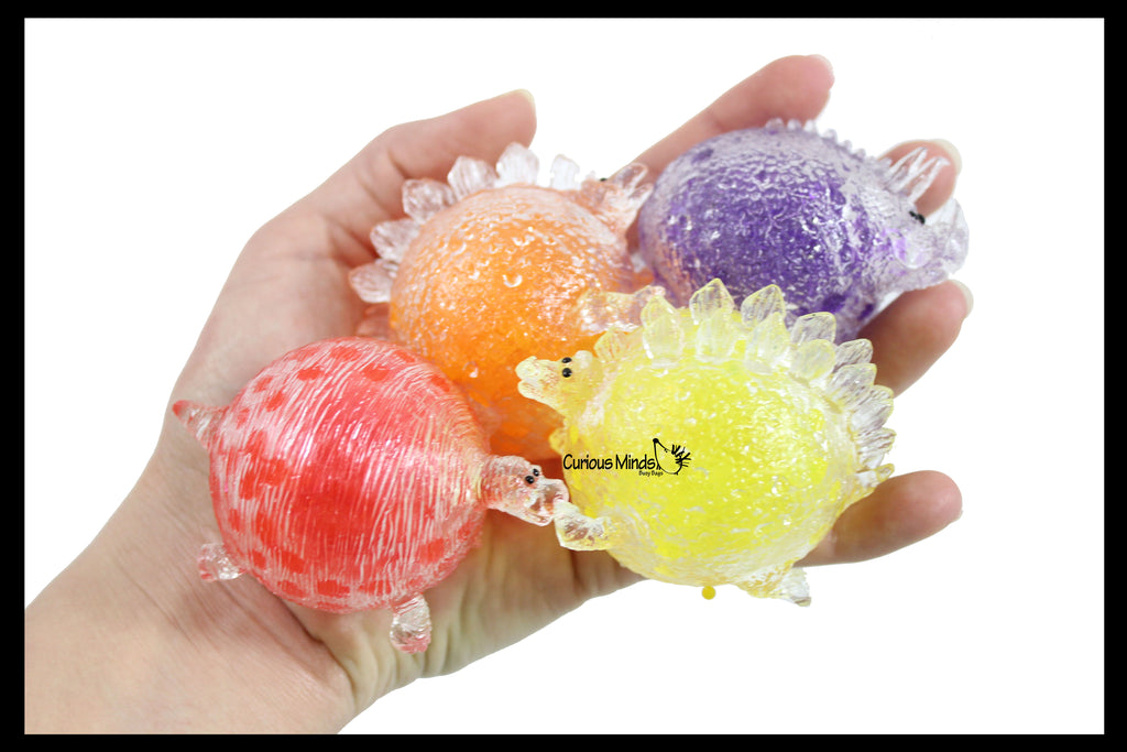 Small Water Bead Filled Dinosaur Squeeze Stress Ball  -  Sensory, Stress, Fidget Toy