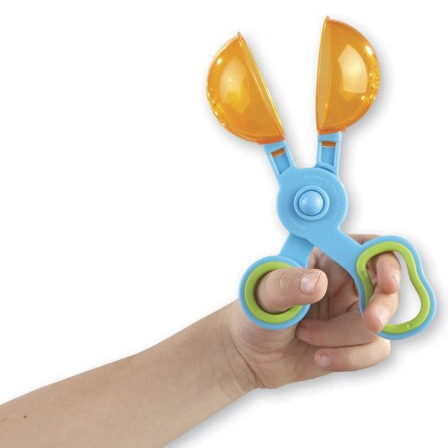 Scoop Tongs For Adding Fine Motor Practice To Busy Bags