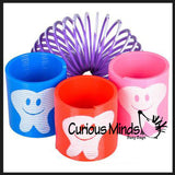 Tooth Spring Coils - Pediatric Dentist Prizes - Tooth Toy