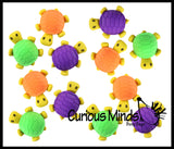 Cute Large 3D Turtle Erasers - Novelty and Functional Adorable Eraser Novelty Prize, School Classroom Supply