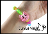 Twist Animal Pet Bracelet -  Sensory Fidget Toy - Bead Animal that Turns into a Bracelet - Jewelry