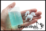 Unicorn Figure Girly Slime - Putty / Slime