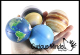Universe Solar System Stress Ball Toy Set - Educational Learning Toy - Outer Space Planets