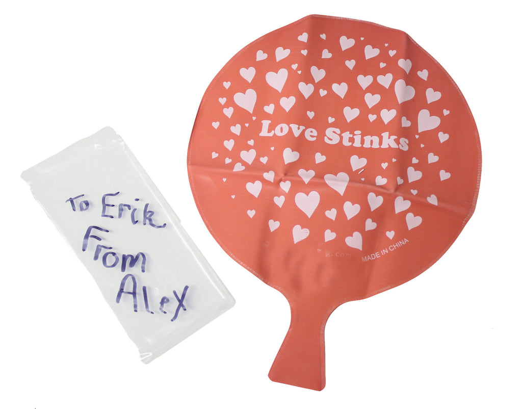 "Whoopie Cushions - Unique Valentines Day Cards for Kids - ""Love Stinks"" and ""Love is a Gas"""