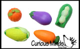 Vegetable Stress Ball  -  Sensory, Stress, Fidget Toy