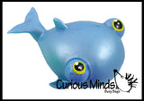 Jumbo Fish With Bulging Eyes Water Bead Filled Squeeze Stress Ball  -  Sensory, Stress, Fidget Toy