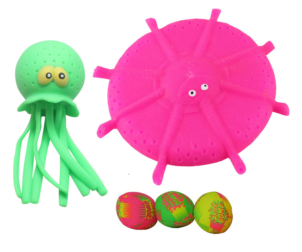 Water Bomb Bundle - Bath and Pool Toy Water Bomb Soaker Splash
