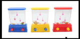 Small Water Games - Push Button to Put Rings on Pegs - Hand Held Travel Arcade Game - Party Favors