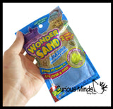 Wonder Sand Pouch with 2 Mini Sand Molds - Stretchy  Soft Moving Sand-Like  putty/dough/slime