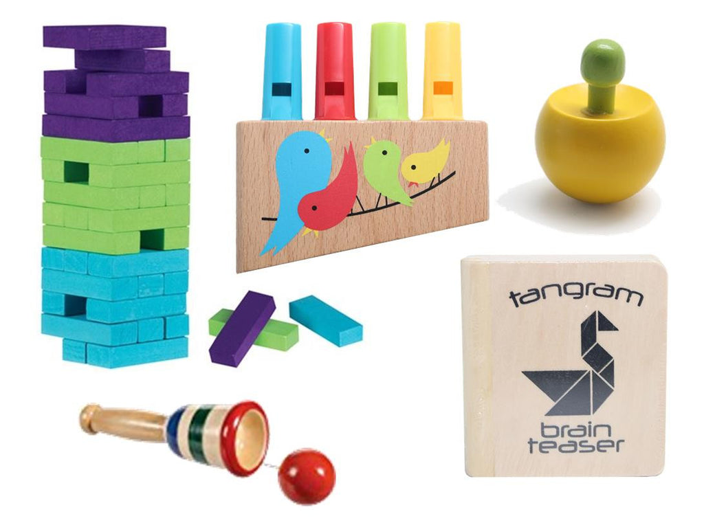 Small Wood Toy Bundle