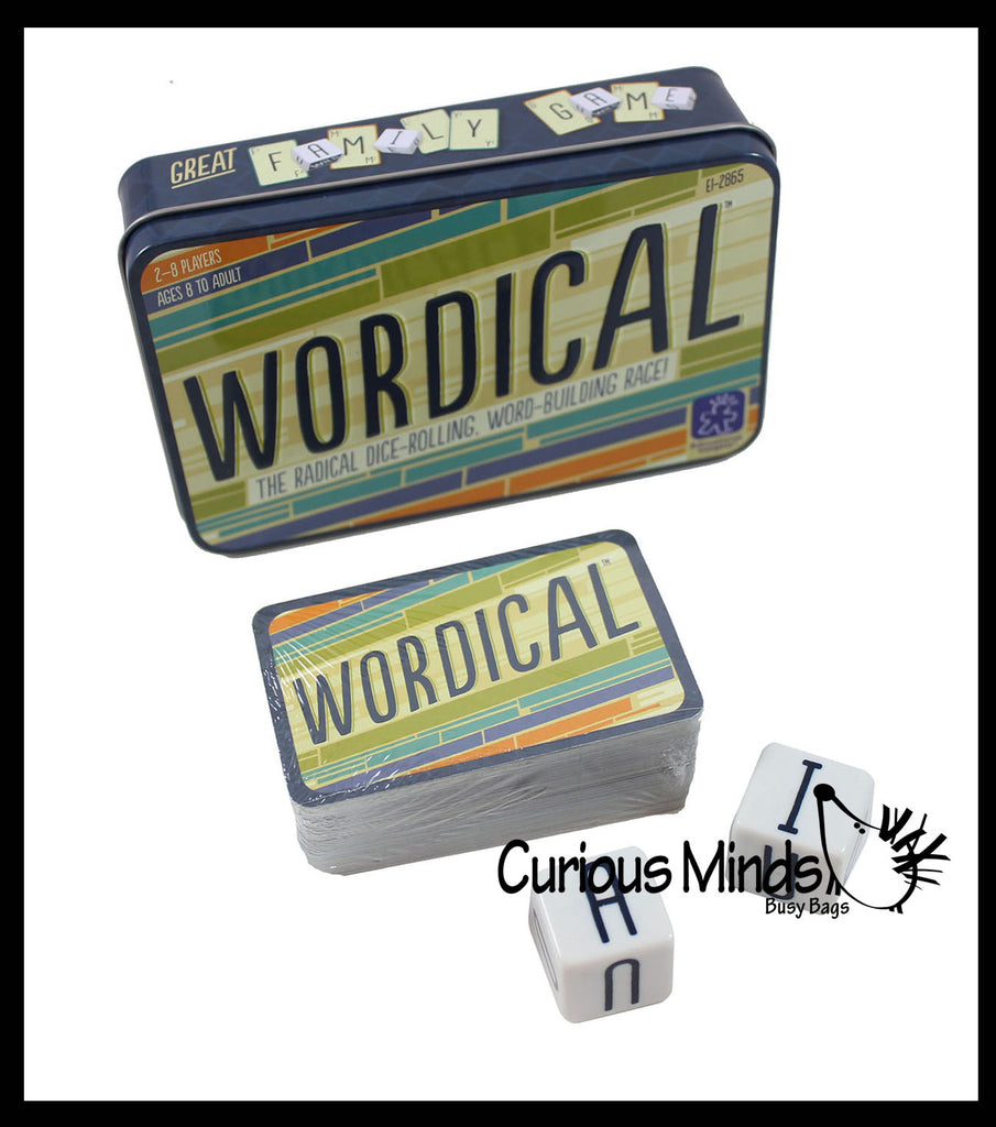 Wordical - Word Making - Point Scoring Learning Game - Language Arts