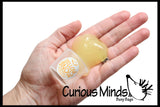"CLEARANCE - SALE - Yellow Snow ""Piddle Putty""  Slime - Funny Winter Holiday Gag Joke Party Favor - Pee Snow"
