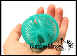 CLEARANCE SALE - Hairy Flip Inside - Out - Double Sided Sensory Spiky Puffer Ball