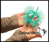 Hairy Flip Inside - Out - Double Sided Sensory Spiky Puffer Ball