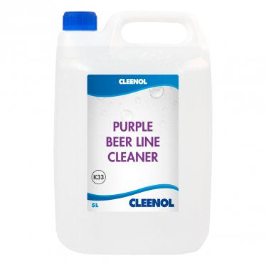 Cleenol Purple Beer Line Cleaner - 5 Litres