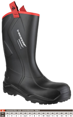 Dunlop C762043.CH Purofort+ Rugged Safety Wellington