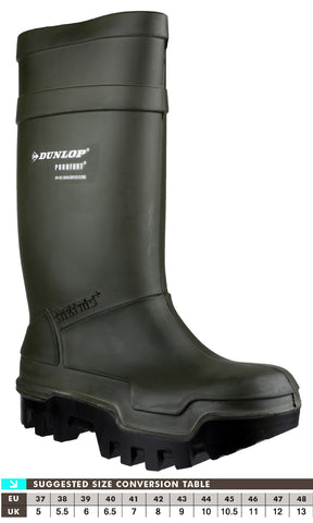 Dunlop C662933 Purofort Thermo+ Safety Wellington