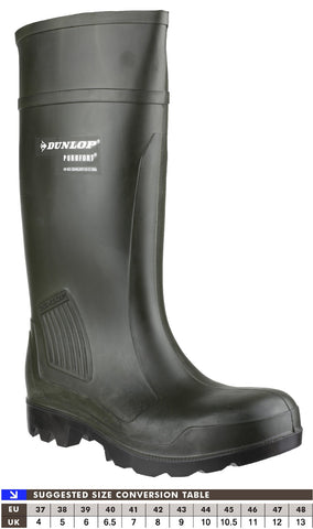 Dunlop C462933 Purofort Professional Safety Wellington