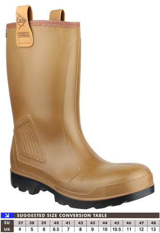 Dunlop C462743FL Purofort Rig-Air Fur Lined Safety Boot