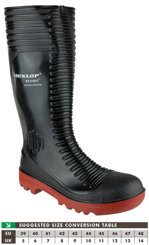 Dunlop A252931 Acifort Ribbed Safety Wellington