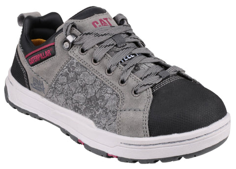Caterpillar Brode Canvas Womens Safety Trainer