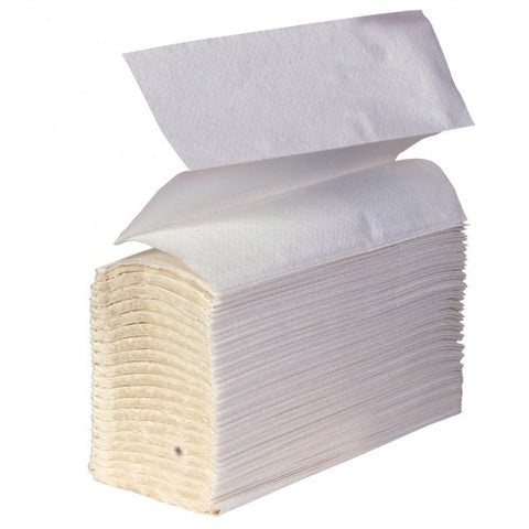 SCA Hygiene 66413 White Z-Fold Hand Towels 2 ply