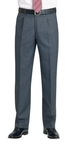 Brook Taverner 8432 Branmarket Single Pleat Trouser