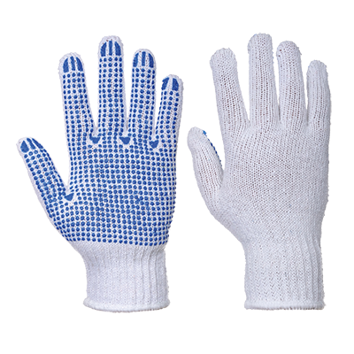 Portwest A111 Fortis Polka Dot PVC Gloves