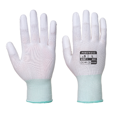 Portwest A121 PU Fingertip Gloves