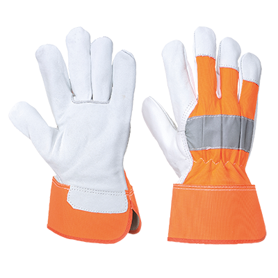 Portwest A215 Hi-Vis Rigger Gloves