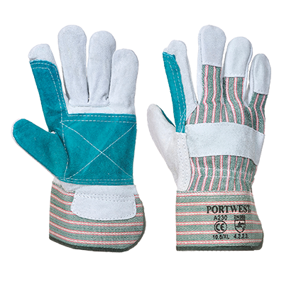 Portwest A230 Double Palm Rigger Gloves