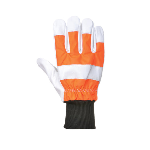 Portwest A290 Oak Chainsaw Protective Gloves (Class 0)