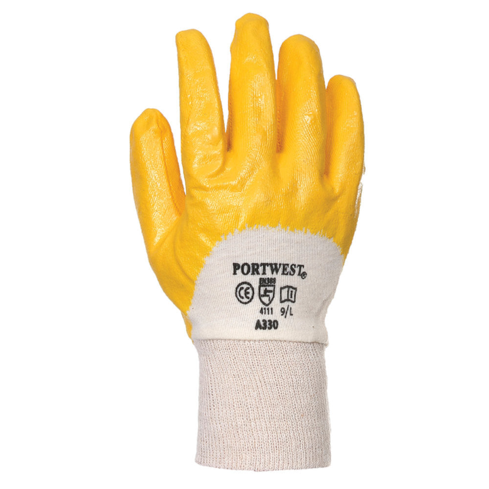 Portwest A330 Nitrile Light Knitwrist Gloves