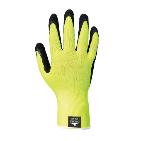 Portwest A340 Hi-Vis Grip Gloves