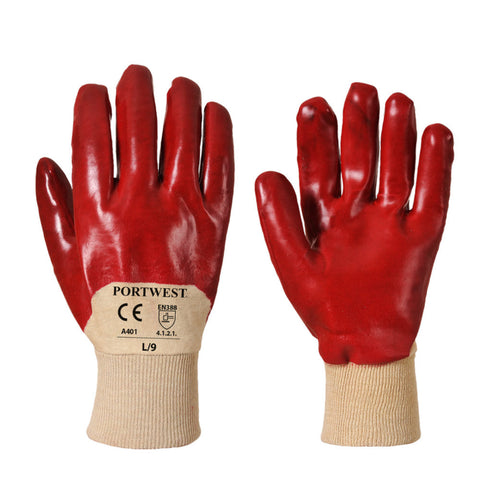 Portwest A401 PVC Venti Gloves